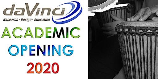 Da Vinci Academic Opening: 2020