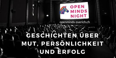 Open MINDS NIGHT Zürich Tickets