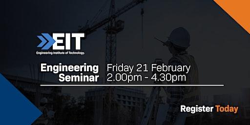 EIT Seminar in Johannesburg - February 2020