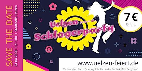 Schlagerparty - Uelzen Stadthalle - uelzen-feiert.de Tickets