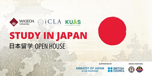 Study in Japan Open House