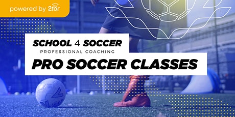 Pro Soccer Lessons from a previous AU National League Soccer Player tickets