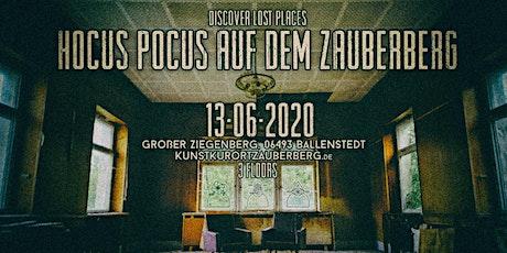 Hocus Pocus auf dem Zauberberg Tickets