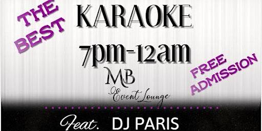 Karaoke $2 Tuesdays in McDonough, GA @ MB EVENT LOUNGE