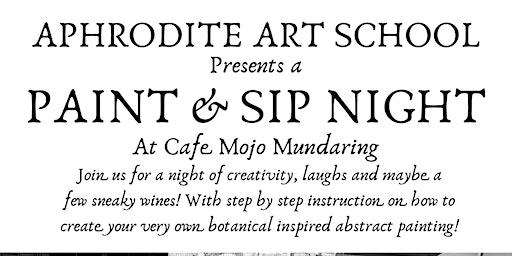 Aphrodite Art School Paint & Sip Night