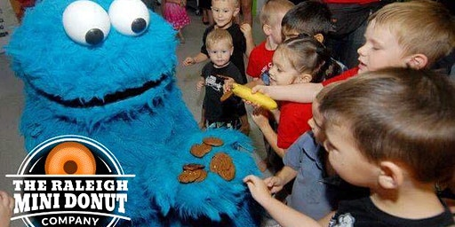 Mini Donuts with Cookie Monster