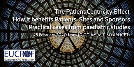The Patient Centricity Effect – How it benefits Patients, Sites and Sponsors – Practical cases from paediatric studies tickets