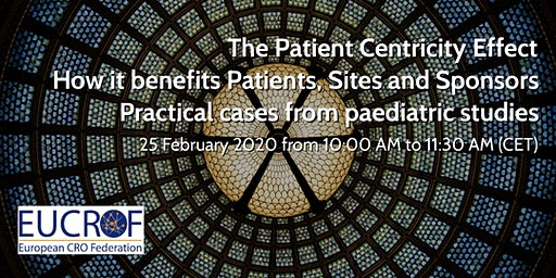 The Patient Centricity Effect – How it benefits Patients, Sites and Sponsors – Practical cases from paediatric studies