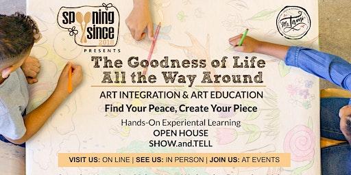Open House & Studio Tour | Art Integration & Art Education - On Sunday 1/26