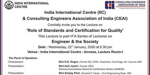 Role of Standards and Certification for Quality