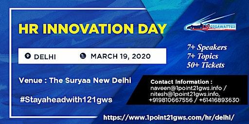 HR Innovation Day   March 19, 2020   Delhi