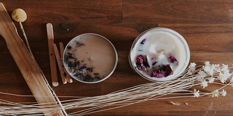 Soy Candle Making with Curious Studios tickets
