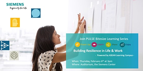 Building Resilience in Life & Work tickets