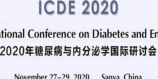 2020 International Conference on Diabetes and Endocrinology (ICDE 2020)