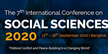 7th International Conference on Social Sciences 2020 – (ICOSS 2020) tickets