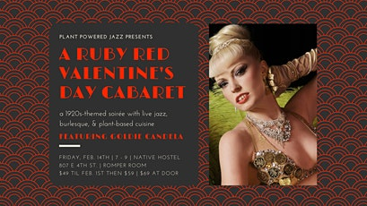A Ruby Red Valentine's Day Cabaret tickets