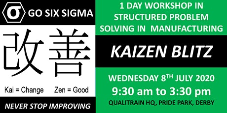 Kaizen Blitz - Problem Solving In a Manufacturing Business tickets
