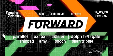 Forward x Hanging Gardens // The Plymouth Rave // 14.03.20 tickets
