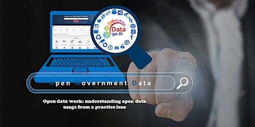 Open data work: understanding open data  usage from a practice lens