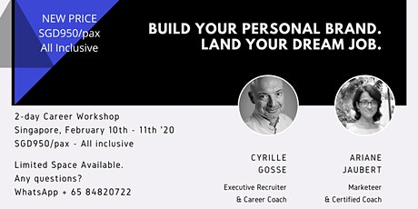 Build your personal brand, Land your next dream job tickets