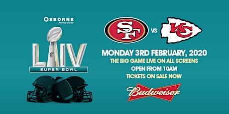 Super Bowl LIV at the Osborne tickets