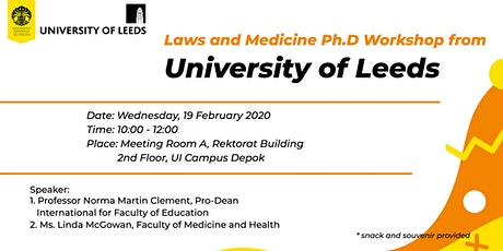 Laws and Medicine Ph.D Workshop from University of Leeds tickets
