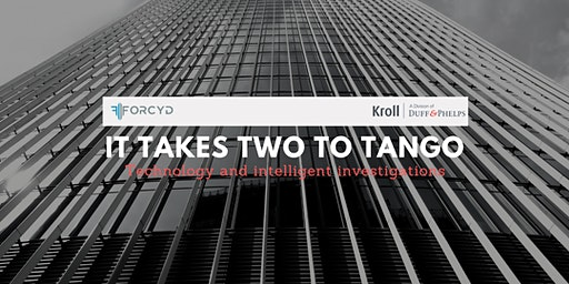 It takes two to tango  by Forcyd and Kroll