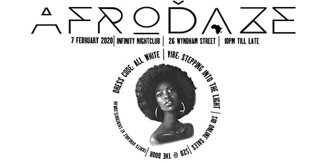 Afrodaze Fridaze Stepping Into The Light: All White Party tickets