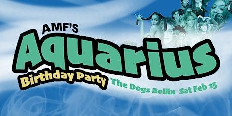 Aquarius Birthday Party tickets