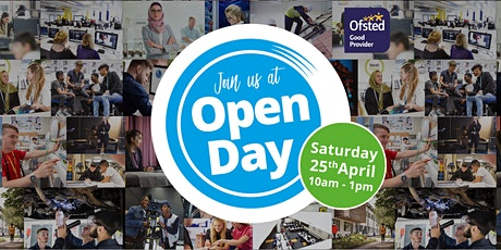 Open Day at Oldham College - 25th April, 10am - 1pm tickets