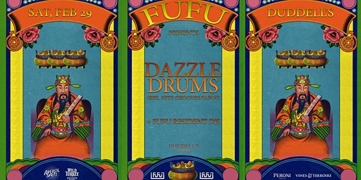 FuFu presents Dazzle Drums (BBE, Nite Grooves / Japan)