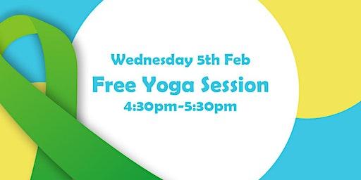 Fit4Feb Free Yoga Session