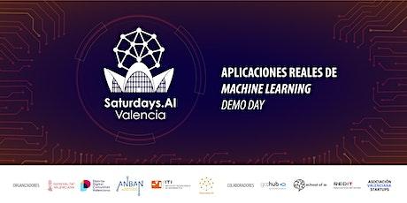Aplicaciones reales de Machine Learning. DEMO DAY #AISaturdays #Valencia entradas