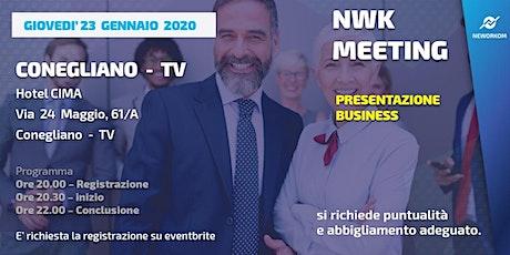 MEETING PRESENTAZIONE BUSINESS - NEWORKOM COMMUNITY -CONEGLIANO (TV) biglietti