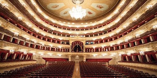 Backstage at the Bolshoi