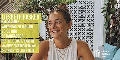 Liesbeth Rasker bij Utrecht College Tour tickets