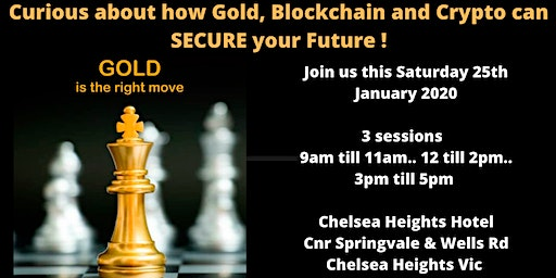 Curious about how Gold, Blockchain and Crypto can secure your Future !