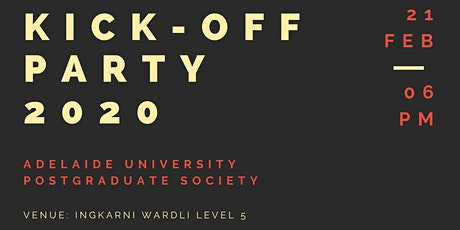 2020 AUPS KICK OFF PARTY tickets
