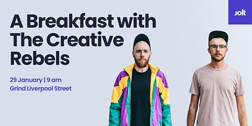 A Breakfast with... The Creative Rebels