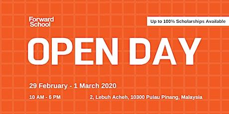 Forward School Open Day 2020 tickets