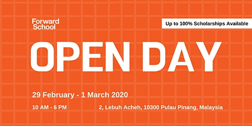 Forward School Open Day 2020