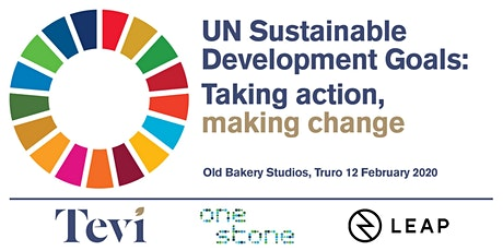 UN Sustainable Development Goals: taking action, making change tickets