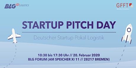 Pitch Day - Deutscher Startup-Pokal Logistik - öffentliche Seite Tickets