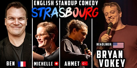 English Standup Comedy Night Strasbourg billets