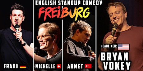 English Standup Comedy Night Freiburg  billets