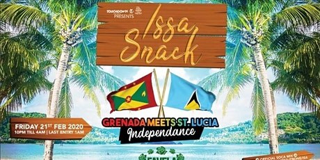 ISSA SNACK - GRENADA MEETS ST. LUCIA INDEPENDENCE tickets