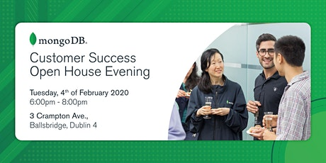MongoDB Dublin Customer Success Open House tickets