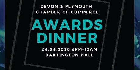 Devon & Plymouth Chamber Awards tickets