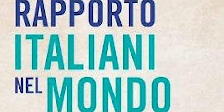 Presentazione del Rapporto Italiani nel Mondo 2019 biglietti
