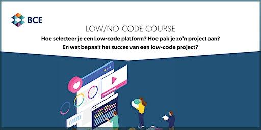 Low/no-code course
